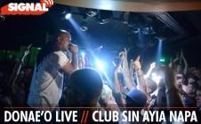 Signal presents Donae'O LIVE – 21st July 2012