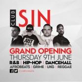 Club Sin Grand Opening 2016